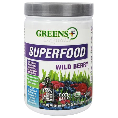 Greens+ Organic Superfood Wild Berry