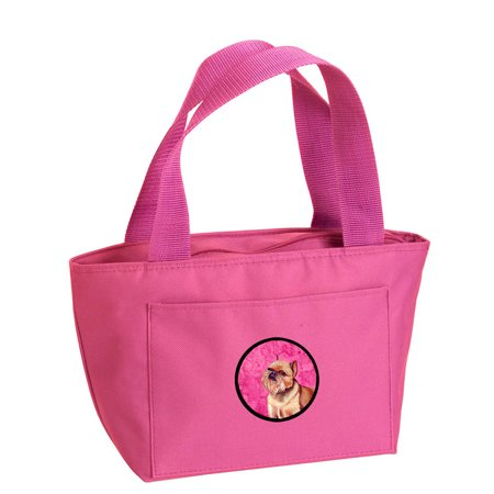 Pink Brussels Griffon Lunch Bag or Doggie Bag LH9359PK