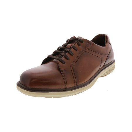 Nunn Bush Lace Oxfords - Nunn Bush Men's Mayfield Brown Multi / Ankle-High Leather Oxford Shoe - 9W