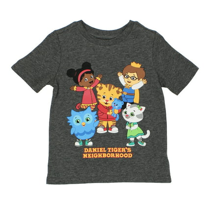 Daniel Tiger's Neighborhood Toddler Boys Short Sleeve Tee DTB126SS (Daniel Tiger Dress)