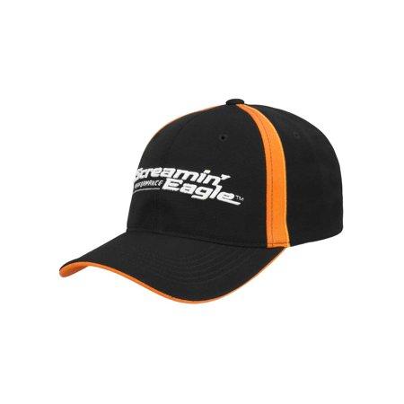 - Harley-Davidson Men's Screamin' Eagle Pursuit Flex Cap, Black HARLMH0332 (L/XL), Harley Davidson