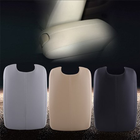 Artificial Leather Armrest Center Console Lid Cover For Honda Accord 2008-2012