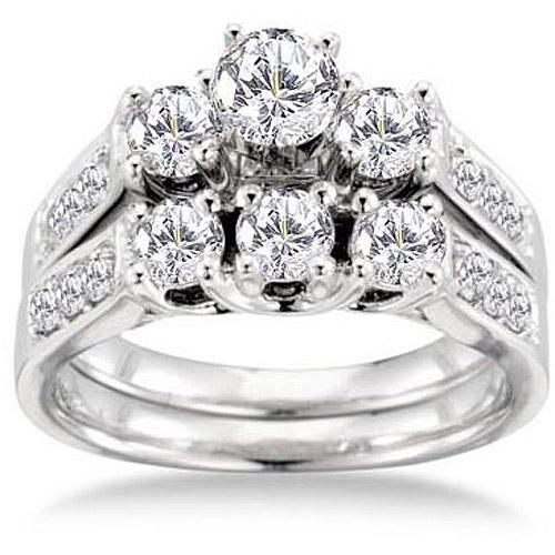 Keepsake Royal 1-1/2 Carat Diamond Bridal Set
