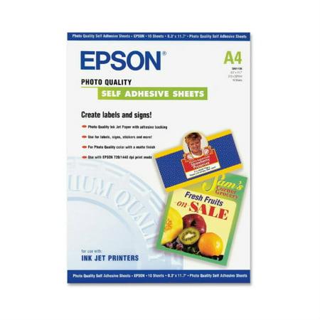 Epson Photo Quality Self-Adhesive Sheets Self Adhesive (Photo Quality Self Adhesive)