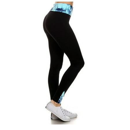 c820b33479dc1 Enimay - Enimay Women's Athletic High Waste Yoga Leggings Sport Gym Tights  Spandex Gym Blue size S - Walmart.com