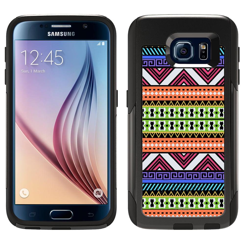 OtterBox Commuter Samsung Galaxy S6 Case - Aztec Navajo Neon Black OtterBox Case