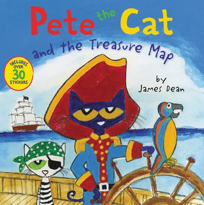 Pete the Cat and the Treasure Map (Paperback)