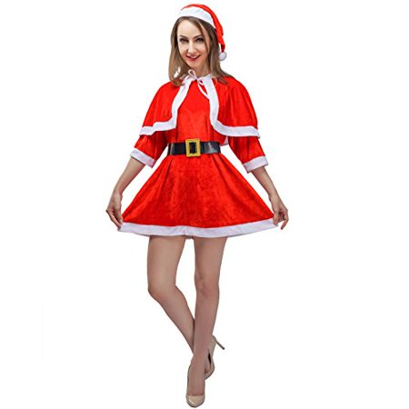 Christmas Miss Santa Simple Costumes for