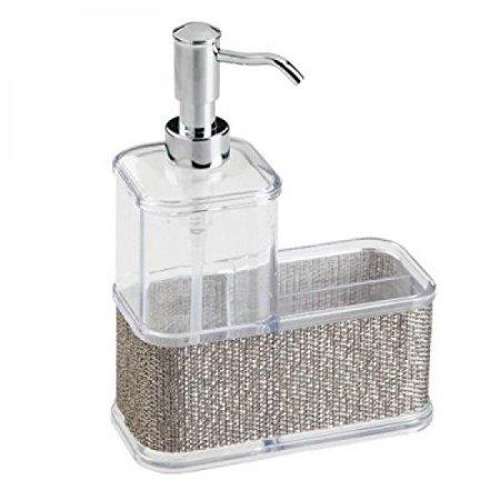 Interdesign Twillo Soap Dispenser Pump And Sponge Scrubber