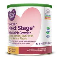 Parent's Choice Toddler Next Stage® Non-Gmo Powder, Vanilla, 24oz