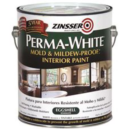 Perma White Mold And Mildew Proof Interior Paint Satin