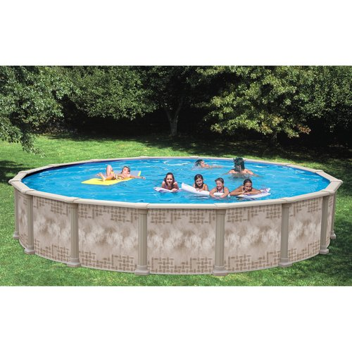 Heritage 27' x 52'' Above Ground Swimming Pool with Vinyl-Coated Frame