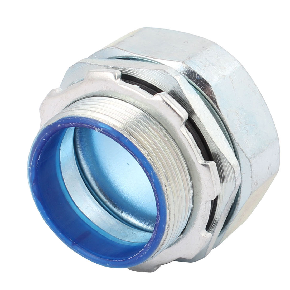 "Unique Bargains NBG-10M Hose Tube Fitting Straight Adaptor 5/4"" Tube OD x M40 Male - image 3 de 4"