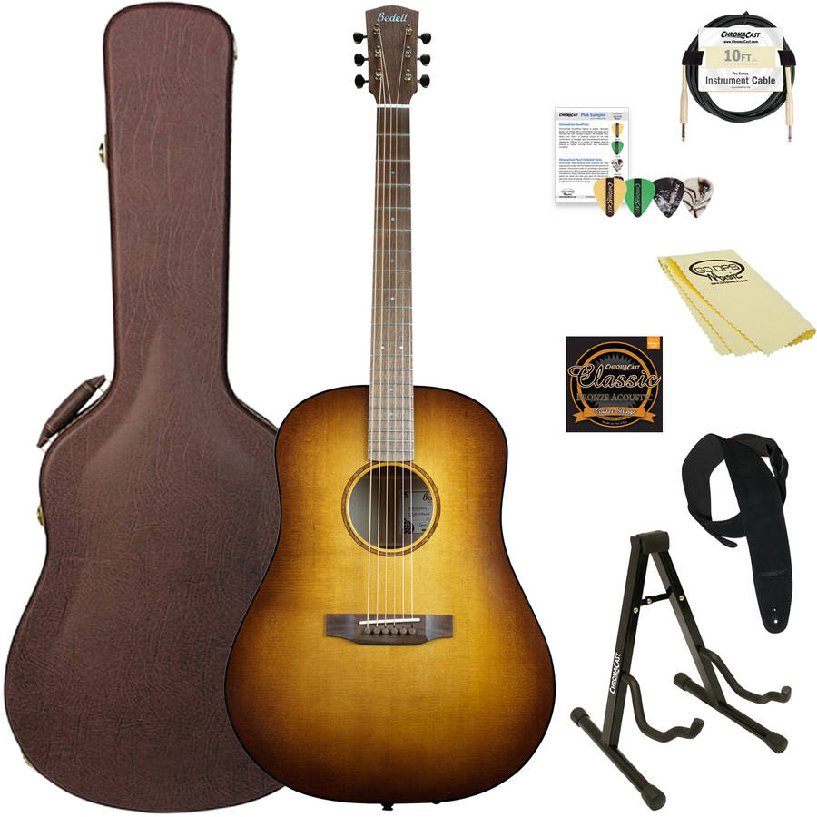 Bedell Guitars Earthsong Series Dreadnought Acoustic-Electric Guitar with ChromaCast... by