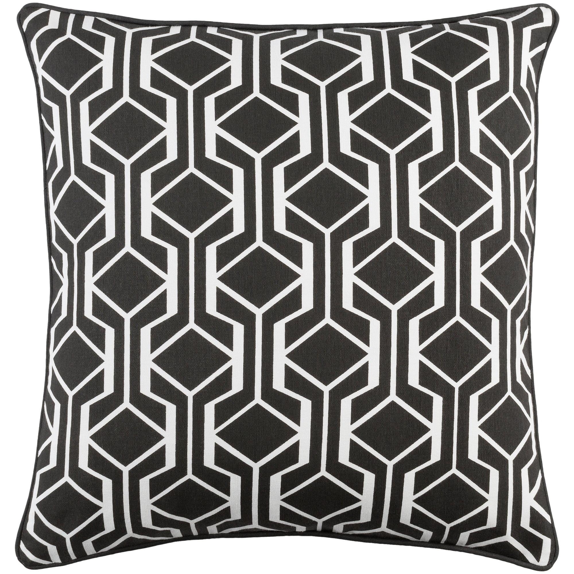 "Artistic Weavers Inga Greta 18"" x 18"" Pillow (with Down Fill)"