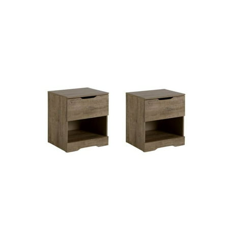 Oak Express Furniture Stores (Home Square Bedroom Furniture Set of 2 Nightstands in Weathered)