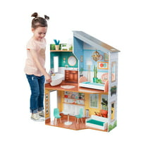 KidKraft Emily Wooden Dollhouse With 10 accessories