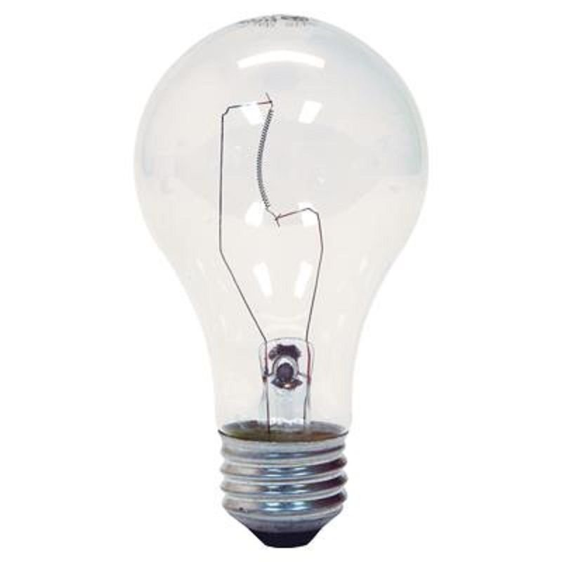 Good GE 97489 A19 Crystal Standard Light Bulb E26 Base 100 Watt (6 Packs Of 2 Images