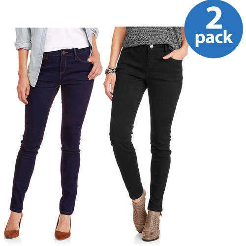 Women's Everyday Skinny Jean available in Regular and Petite 2 Pack Value Bundle