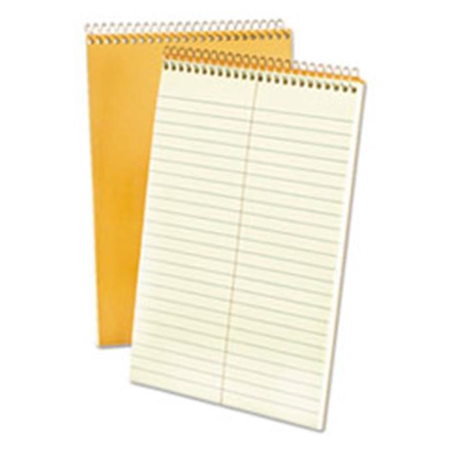 Tops Products 25274 Spiral Steno 6 x 9 Book, Green Tint, 80 Sheets - 15 lbs.