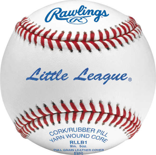 Rawlings RLLB1 Little League Competition Grade Baseballs (Dozen)