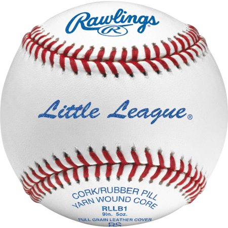 Rawlings RLLB1 Little League Competition Grade Youth Baseballs, 12 Pack