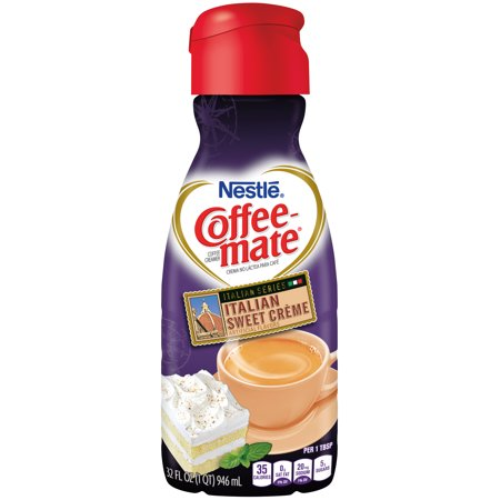 COFFEE-MATE Italian Sweet Creme Liquid Coffee Creamer 32 ...