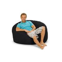 Relax Sack 4 ft. Microsuede Foam Bean Bag Sofa