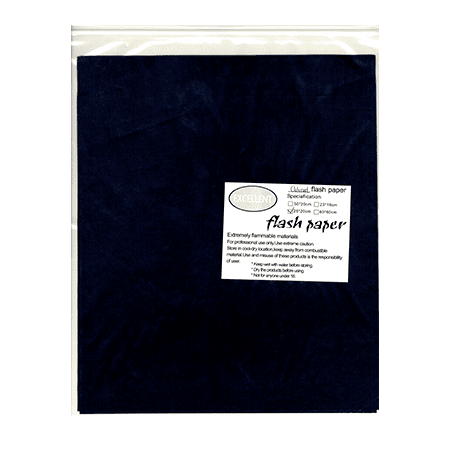 Flash Paper five pack(25x20cm) Black - Trick - Paper Store Coupon