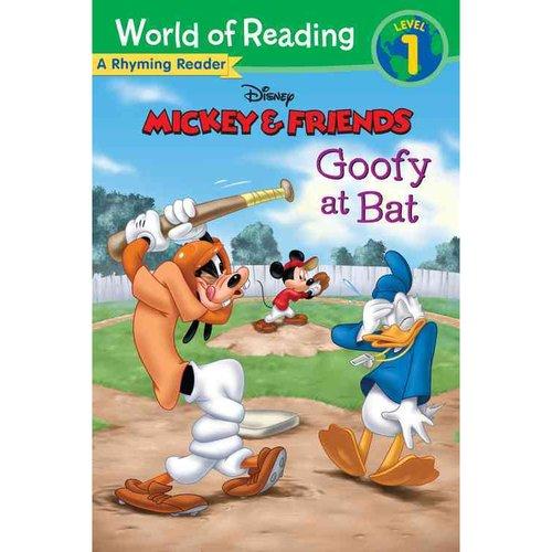 Goofy at Bat: A Rhyming Reader