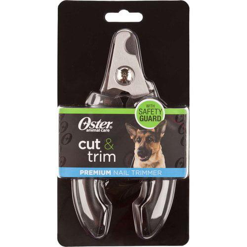 Oster Cut and Trim Premium Nail Trimmer, Black