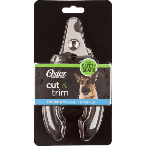 Oster Cut and Trim Premium Nail Trimmer, Black