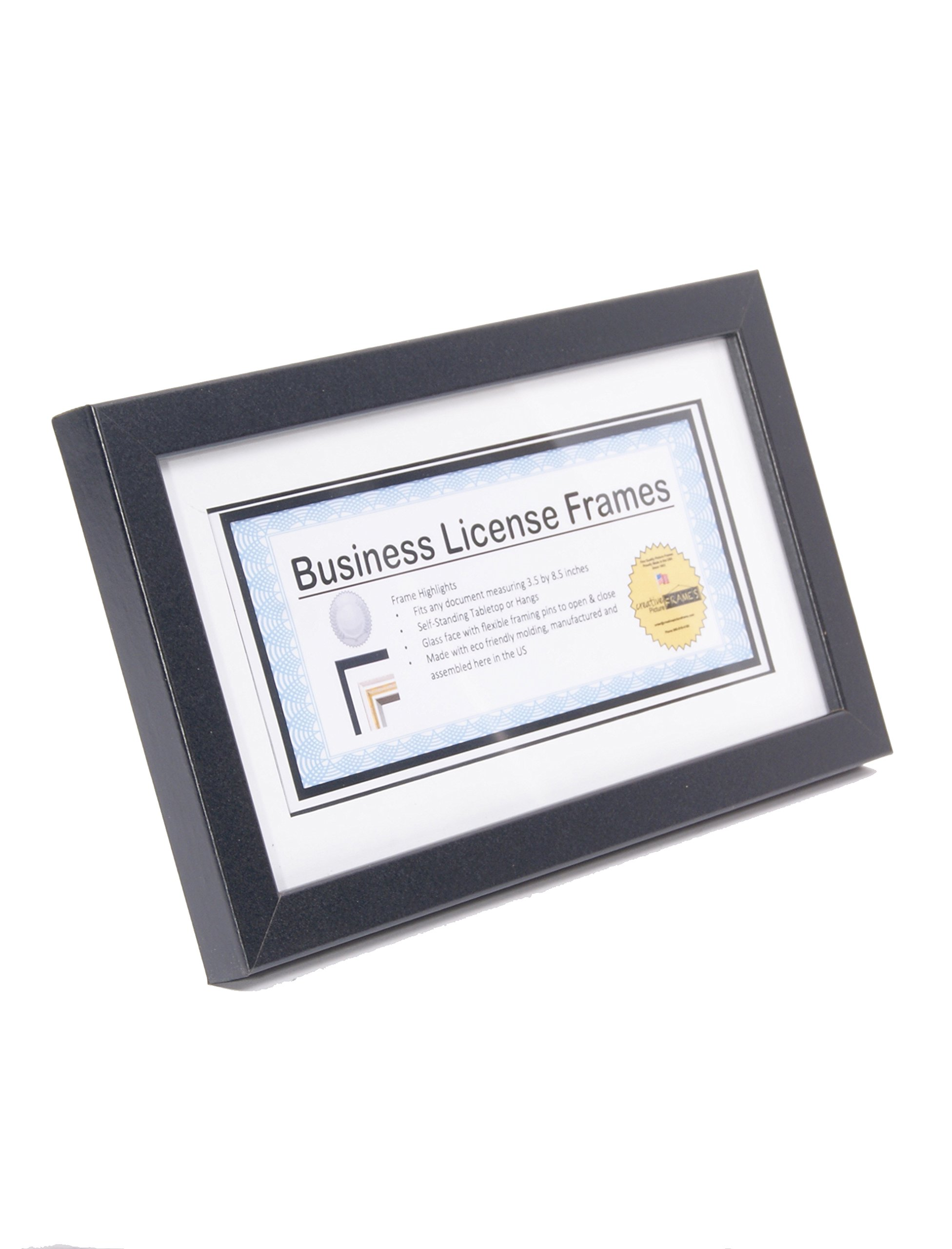 License Frames for Cosmetology Professionals 3.5 by 8.5 inch State ...