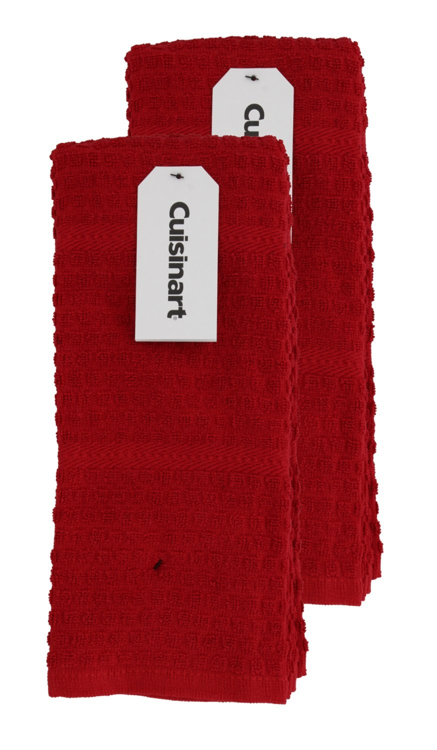 Cuisinart Kitchen, Hand and Dish Towels Premium 100% Cotton Terry � Soft, Absorbent, Quick... by Cuisinart