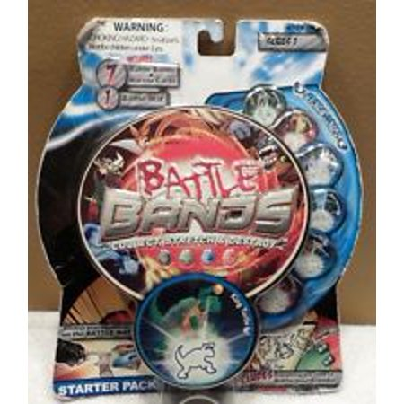 Battle Bands Series 1 King Turtle Starter Set (Includes 7 Battle Bands, 7 Warrior Cards, 1 Battle Mat) 33891