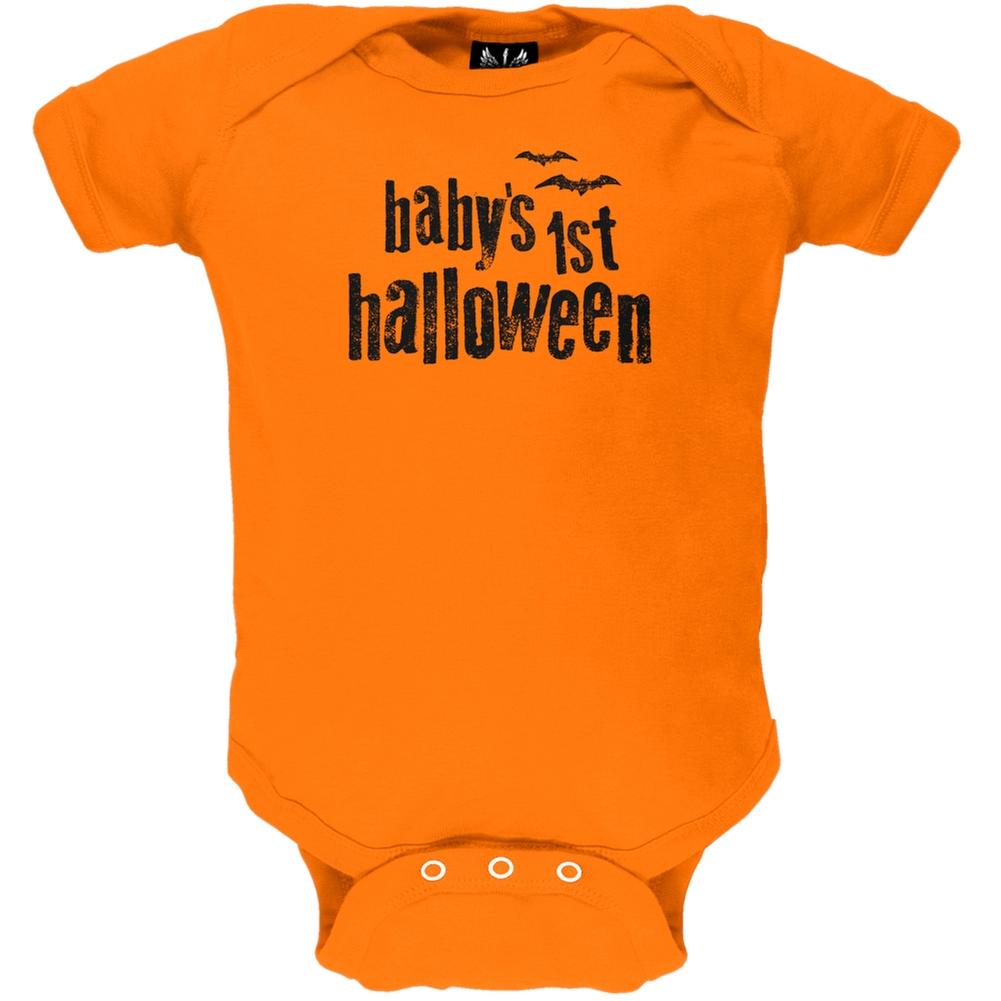 Baby's 1st Halloween Baby One Piece