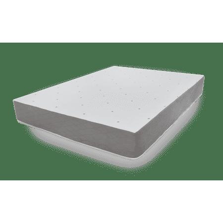 ultimate dreams 10 inch gel memory foam mattress twin xl. Black Bedroom Furniture Sets. Home Design Ideas