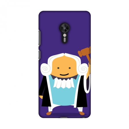 Lenovo ZUK Z2 Pro Case - Lawyers 1, Hard Plastic Back Cover. Slim Profile Cute Printed Designer Snap on Case with Screen Cleaning Kit