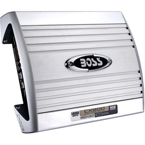 Boss Audio CX800 Chaos eXXtreme 4-Channel MOSFET Bridgeable Power Amplifier (1600W)