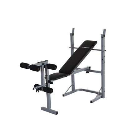 Confidence Fitness Home Multi Gym Dumbbell Weight Lifting Bench W Leg Extension