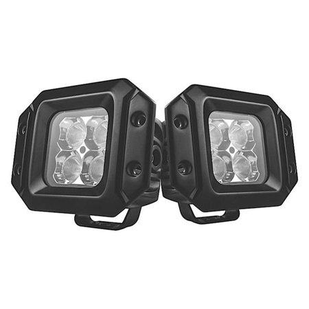 promax automotive led2x2flushflood 20 watt pair flush mount led