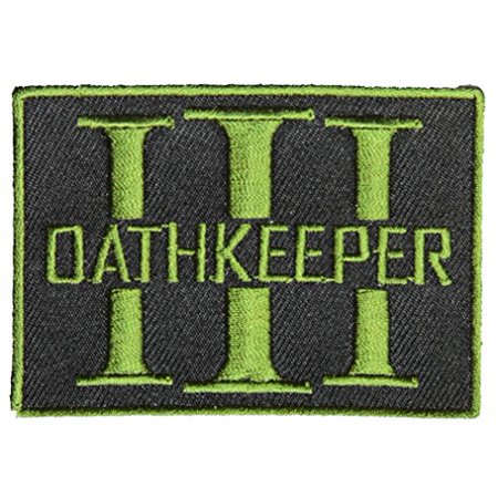 OATH KEEPER 3 PERCENTER PATCH - Color - Veteran Owned Business.](Oath Keeper)