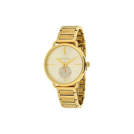 Michael Kors - Michael Kors Watches Portia Stainless-Steel Two-Hand ... c46c2d9357f7
