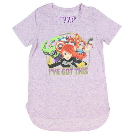 Marvel Little Girls' Avengers I've Got This T-Shirt - Girl Avengers