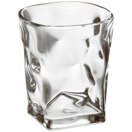 Free-Free Usa MB09DF-1-0 Baroque Double Old Fashioned Tumbler, Clear Acrylic, 15-oz., Must Purchase In Quan - Quantity 6
