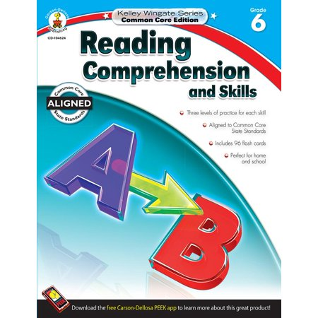 Reading Comprehension and Skills, Grade 6