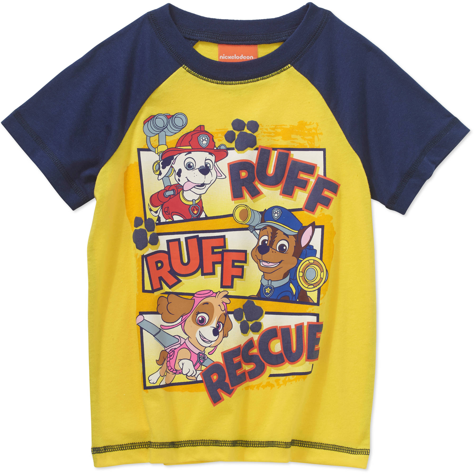 Paw Patrol Toddler Boys' Ruff Ruff Rescue T-Shirt