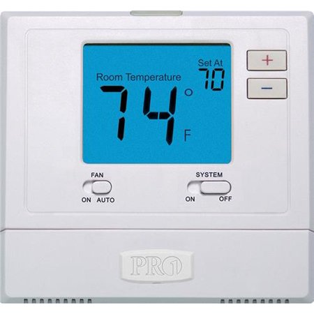 PRO1 T771 Non-Programmable Single Stage Digital (Hvac Thermostat)