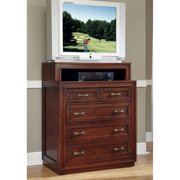 Home Styles Duet Media Chest, Rustic Cherry