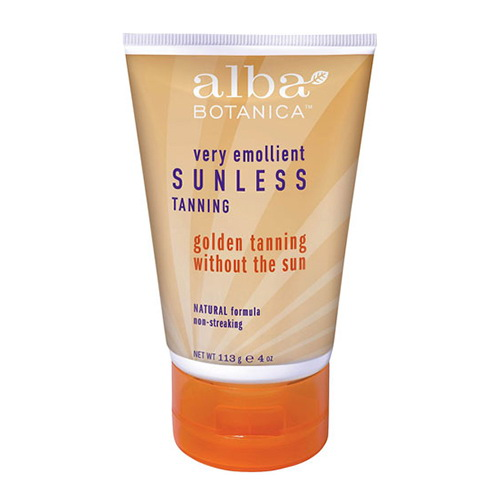Alba Botanica Very Emollient Sunless Golden Tanning Without The Sun Lotion - 4 Oz, 2 Pack
